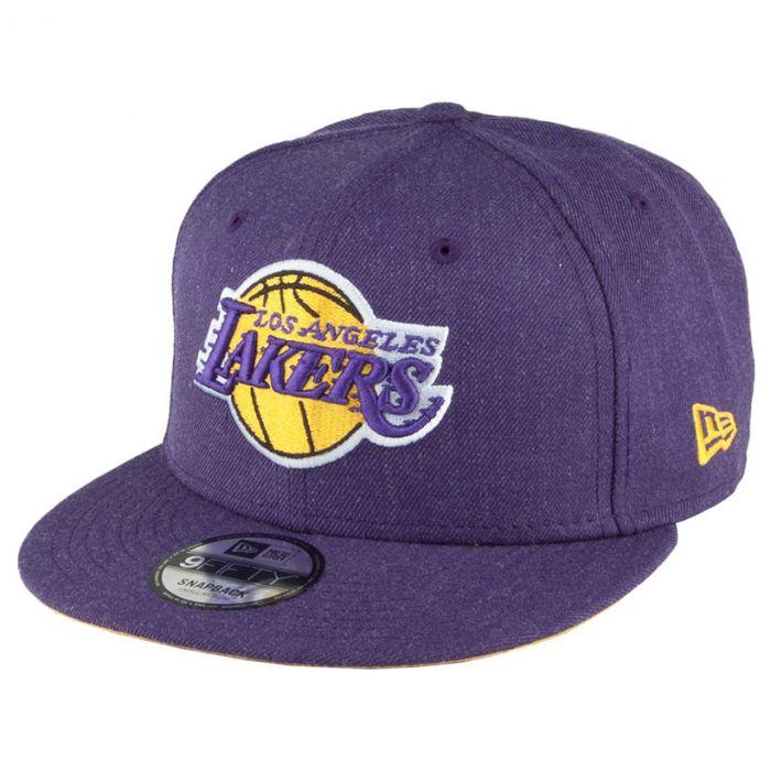 Los Angeles Lakers New Era 9FIFTY Team Heather kapa (80536660)