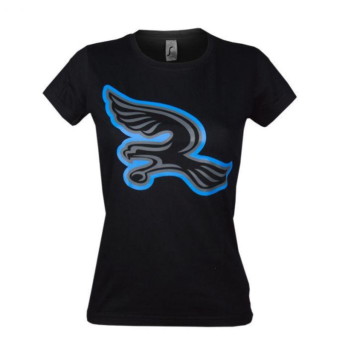 Silverhawks ženska majica Logo Black