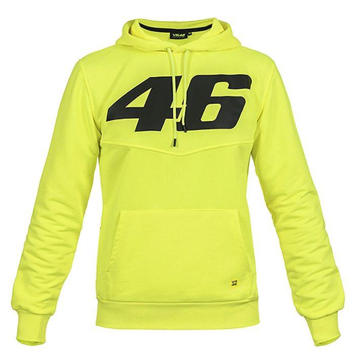 Valentino Rossi VR46 Core pulover s kapuco