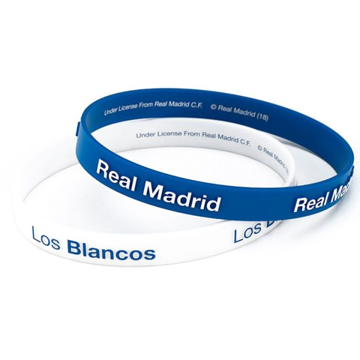 Real Madrid 2x silikonska zapestnica Los Blancos
