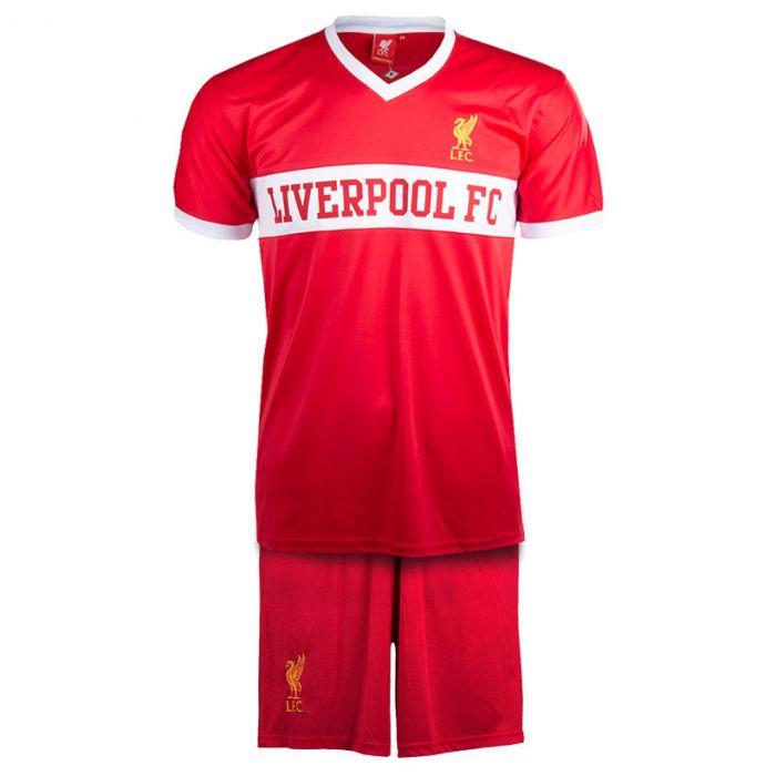Liverpool V-Neck Panel otroški trening komplet