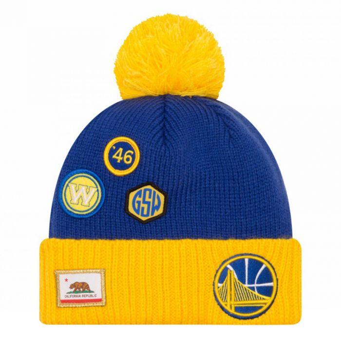 bdc8b3b9b99 Golden State Warriors New Era 2018 NBA Draft zimska kapa