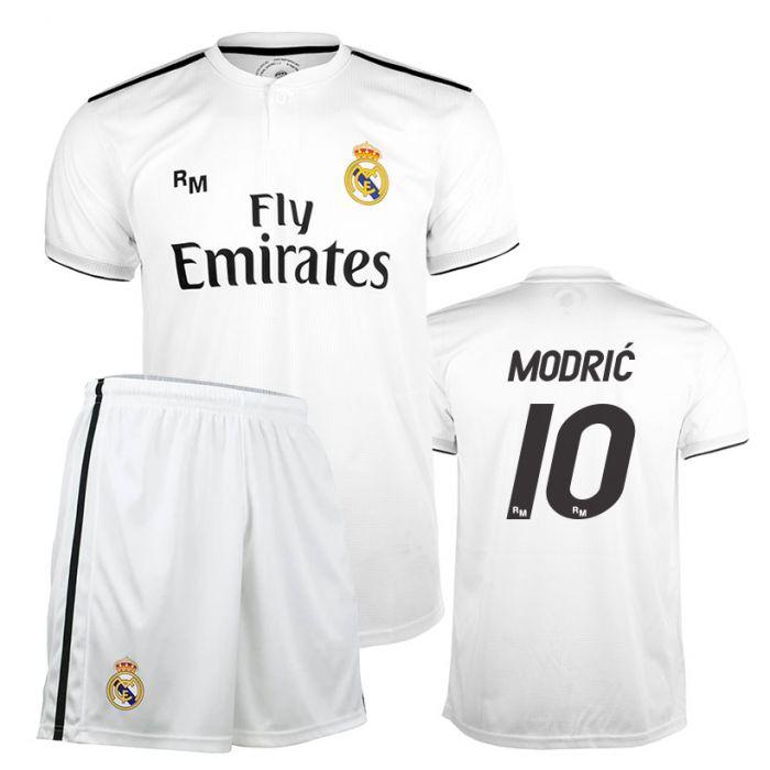 Modrić 10 Real Madrid Home Replica Kinder Trikot Komplet Set