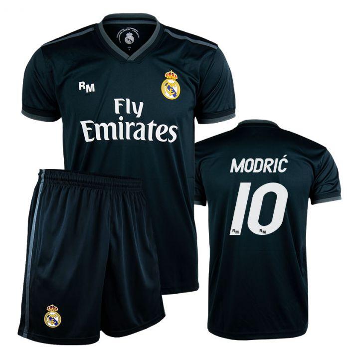 Modrić 10 Real Madrid Away Replica Kinder Trikot Komplet Set