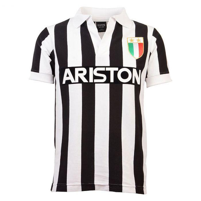 Juventus V-Neck Home retro dres 1984