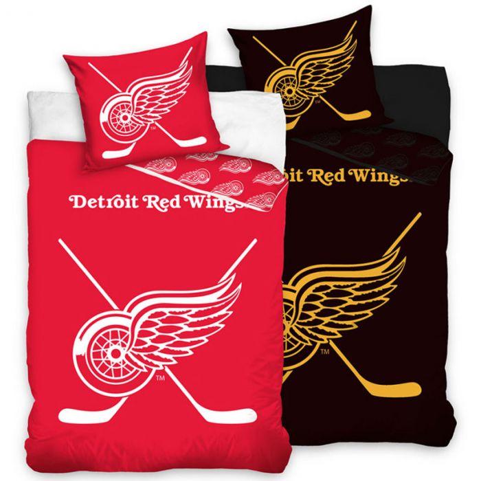 Detroit Red Wings Glow In The Dark Bettwäsche 140x200