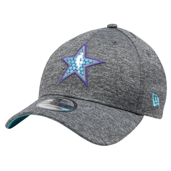 Charlotte Hornets New Era 39THIRTY All Star game 2019 All Shadow Tech  cappellino cd8bd7a64416