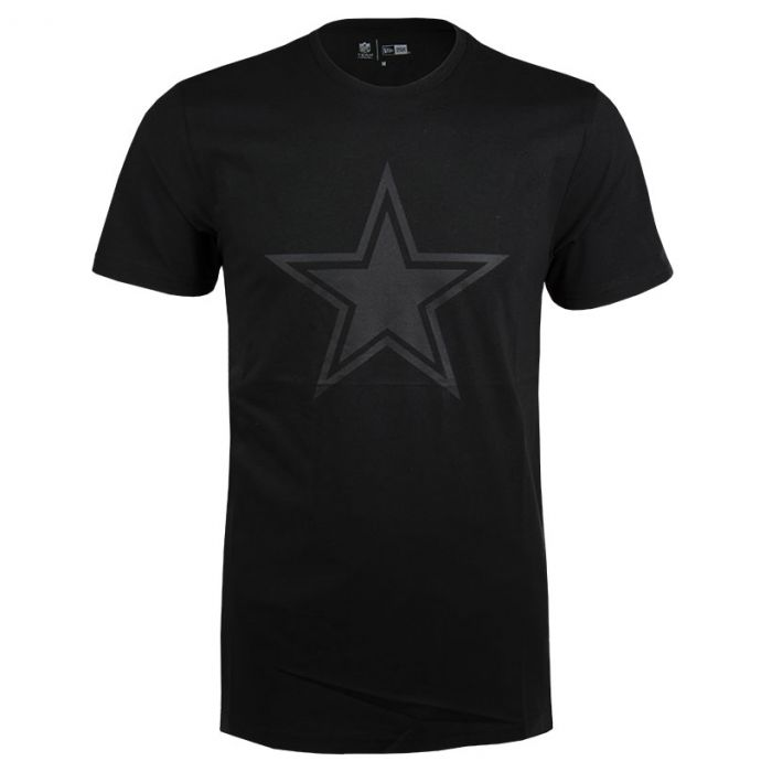 Dallas Cowboys New Era Tonal Black Logo majica