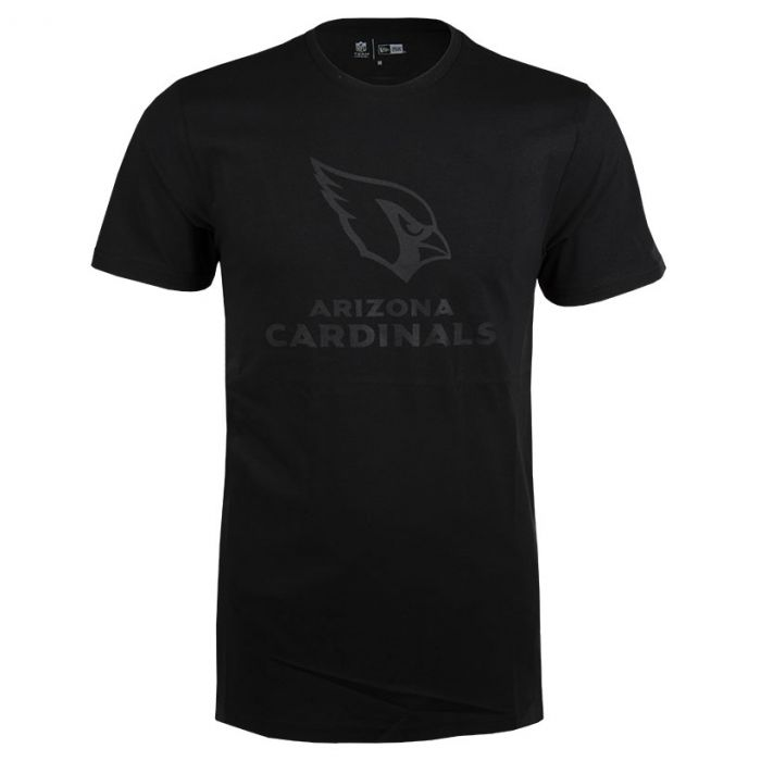 Arizona Cardinals New Era Tonal Black Logo majica