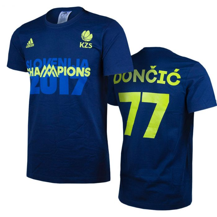 Adidas KZS Eurobasket 2017 Champions majica Dončić 77