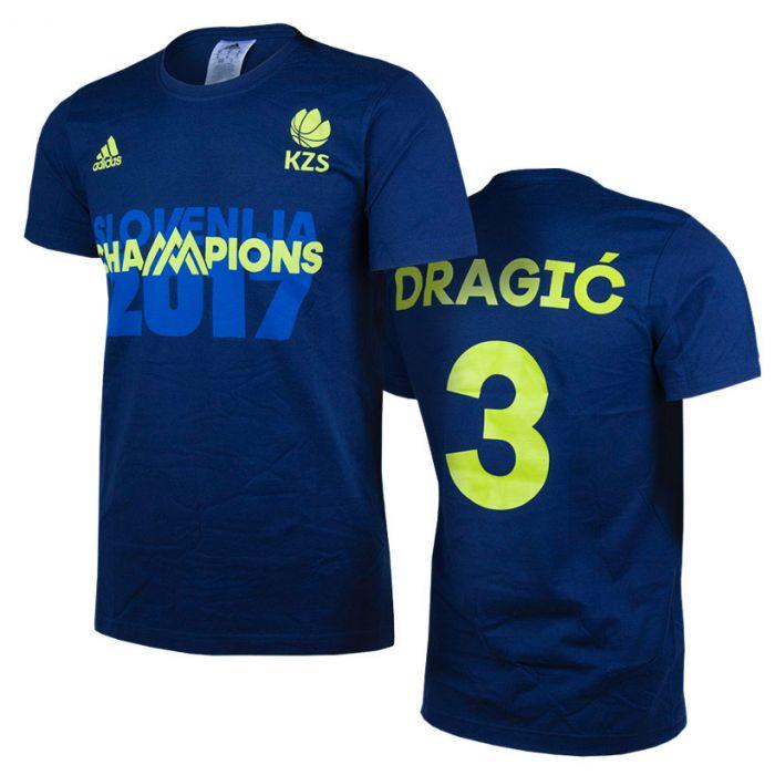 Adidas KZS Eurobasket 2017 Champions majica Dragić 3
