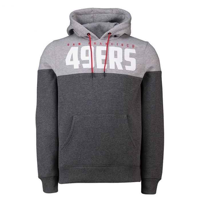 San Francisco 49ers OH pulover s kapuco