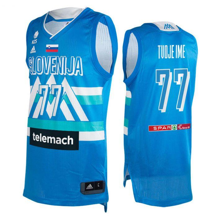 Slovenija Adidas KZS moški dres Away (poljubni tisk +15€)