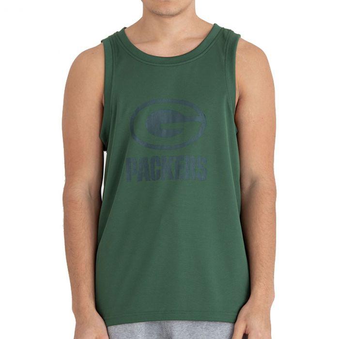 Green Bay Packers New Era Tonal Logo majica brez rokavov