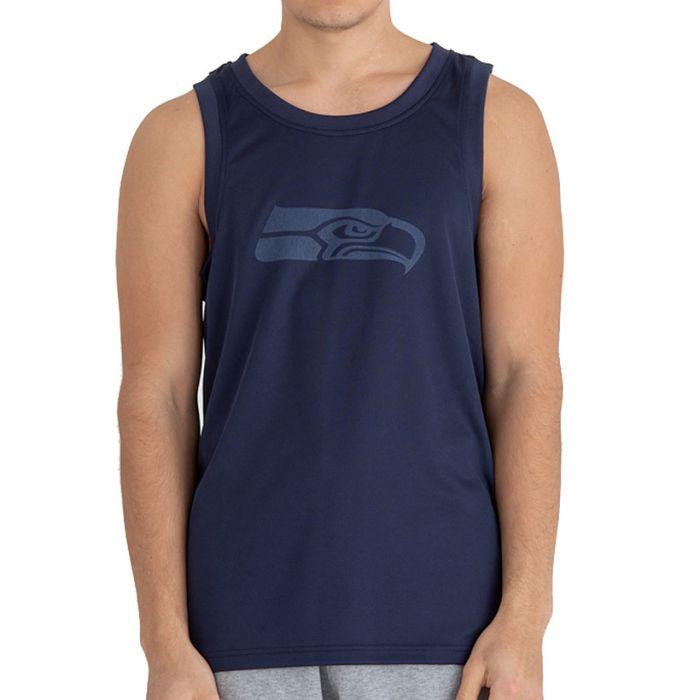 Seattle Seahawks New Era Tonal Logo majica brez rokavov