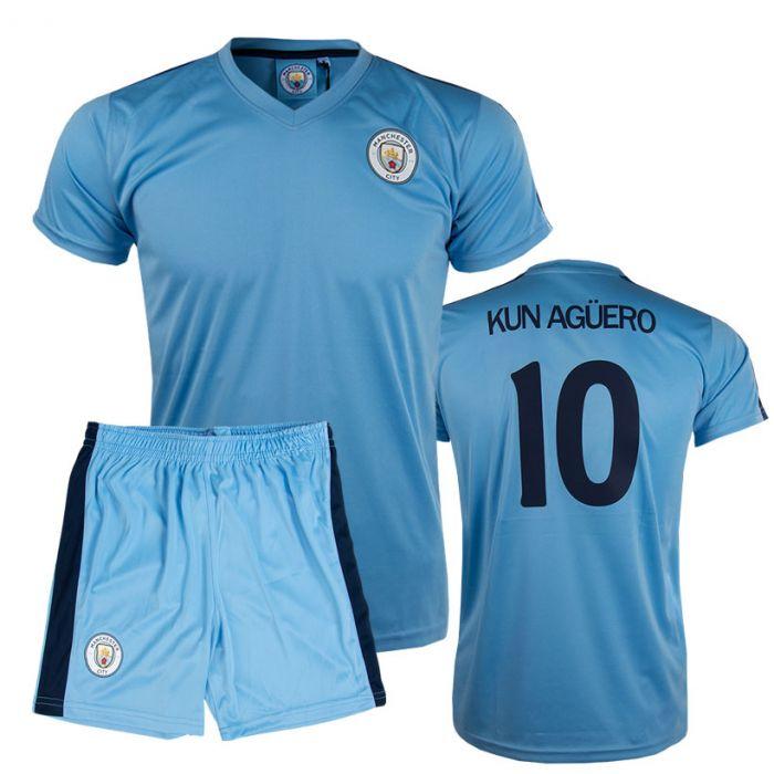 Kun Agüero 10 Manchester City Poly otroški trening komplet dres