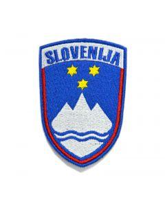 Slovenija našitak grb