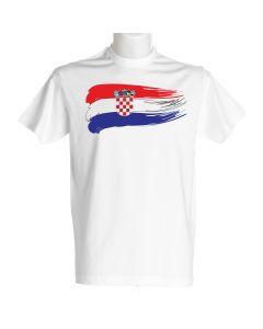 Hrvatska muška majica zastava