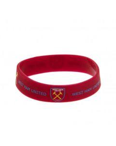 West Ham United silikonska zapestnica