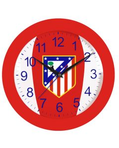 Atlético de Madrid Wanduhr