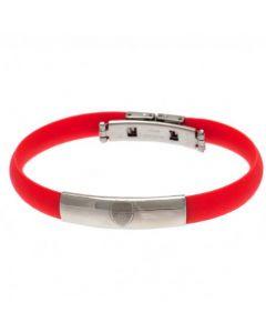 Arsenal Silikon Armband