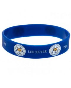 Leicester City Silikon Armband