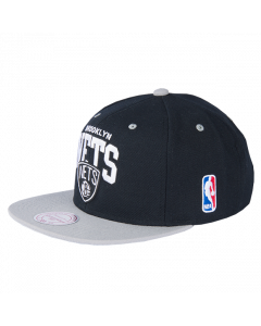 Brooklyn Nets Mitchell & Ness 2 Tone Team Arch Snapback Mütze
