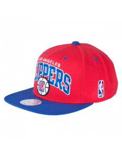 Los Angeles Clippers Mitchell & Ness 2 Tone Team Arch Snapback kapa