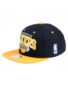 Los Angeles Lakers Mitchell & Ness 2 Tone Team Arch Snapback kapa