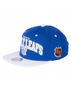 Toronto Maple Leafs Mitchell & Ness 2 Tone Team Arch Snapback kačket