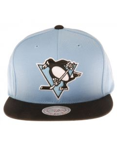 Pittsburgh Penguins Mitchell & Ness Current Throwback Snapback kačket