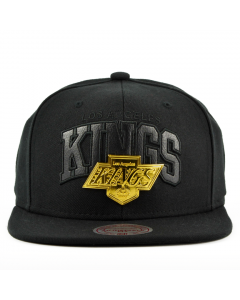 Los Angeles Kings Mitchell & Ness Lux Arch Snapback kačket (EU942 LAKING)