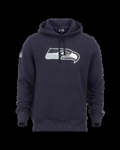New Era Team Logo Kapuzenjacke Seattle Seahawks