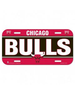 Chicago Bulls auto tablica