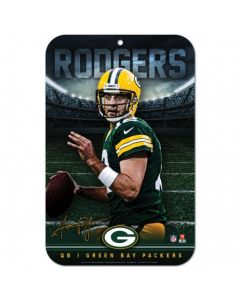 Green Bay Packers Schild Aaron Rodgers