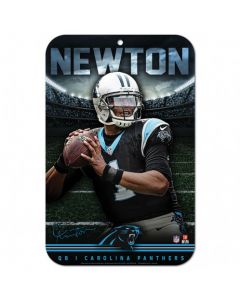Carolina Panthers Schild Cam Newton
