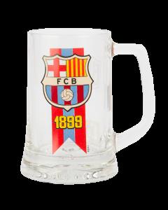 FC Barcelona Bierglas
