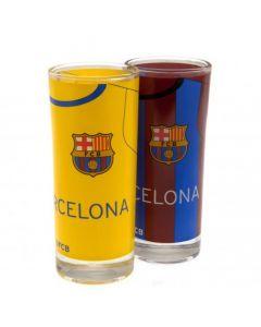 FC Barcelona 2x Trinkglas