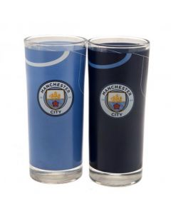 Manchester City 2x Trinkglas