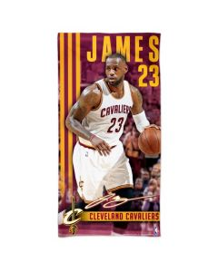Cleveland Cavaliers Badetuch 75x150 LeBron James