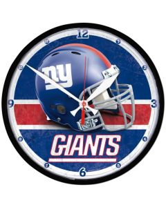 New York Giants Wanduhr
