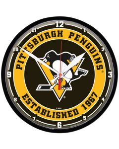 Pittsburgh Penguins Wanduhr