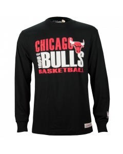 Chicago Bulls Mitchell & Ness Quick Whistle majica dolgi rokav