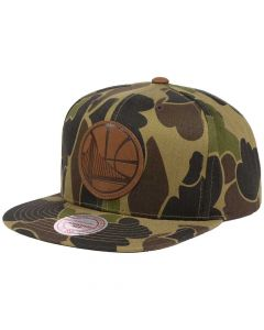 Mitchell & Ness Lux Camo kačket Golden State Warriors