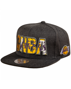 Mitchell & Ness Insider Reflective Mütze Los Angeles Lakers