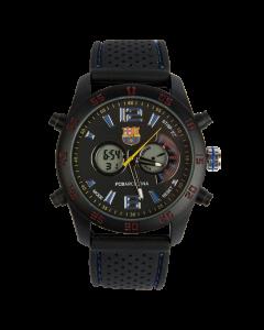 FC Barcelona Armbanduhr rot