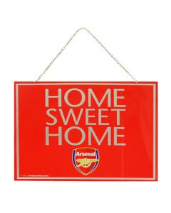Arsenal Home Sweet Home Schild