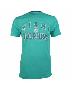 New Era Miami Dolphins Border Edge II College T-Shirt (11409895)