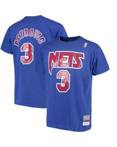 Dražen Petrović #3 New Jersey Nets Mitchell & Ness majica