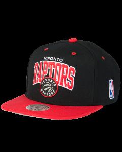 Toronto Raptors Mitchell & Ness 2 Tone Team Arch kačket